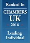 Chambers UK 2016 - Leading Individual